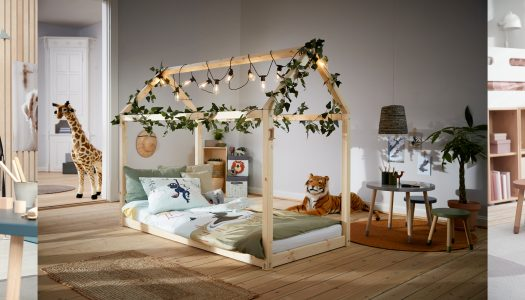Beautiful children's furniture design by FLEXA