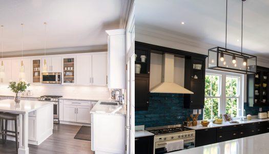 Luxe kitchen lighting