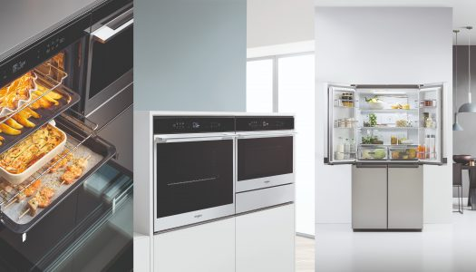 Whirlpool's new W Collection built-in cooking range
