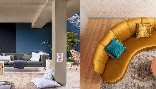 Bold and colourful design