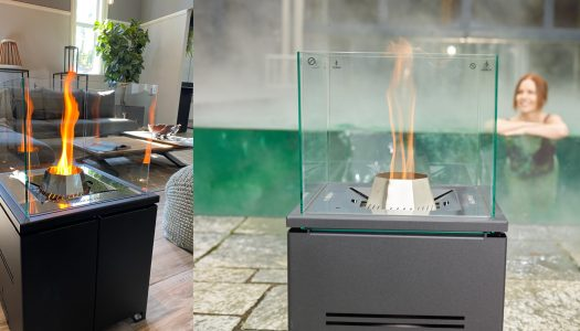 The modern way to heat your patio