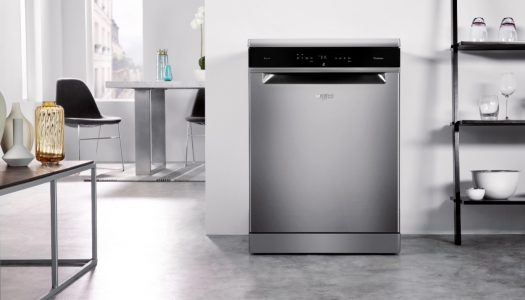 Perfectly washed and dried dishes with Whirlpool, in just one hour